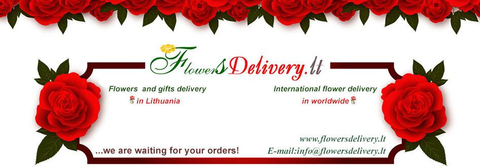 Flowers and gifts delivery in Lithuania. International flower delivery in worldwide